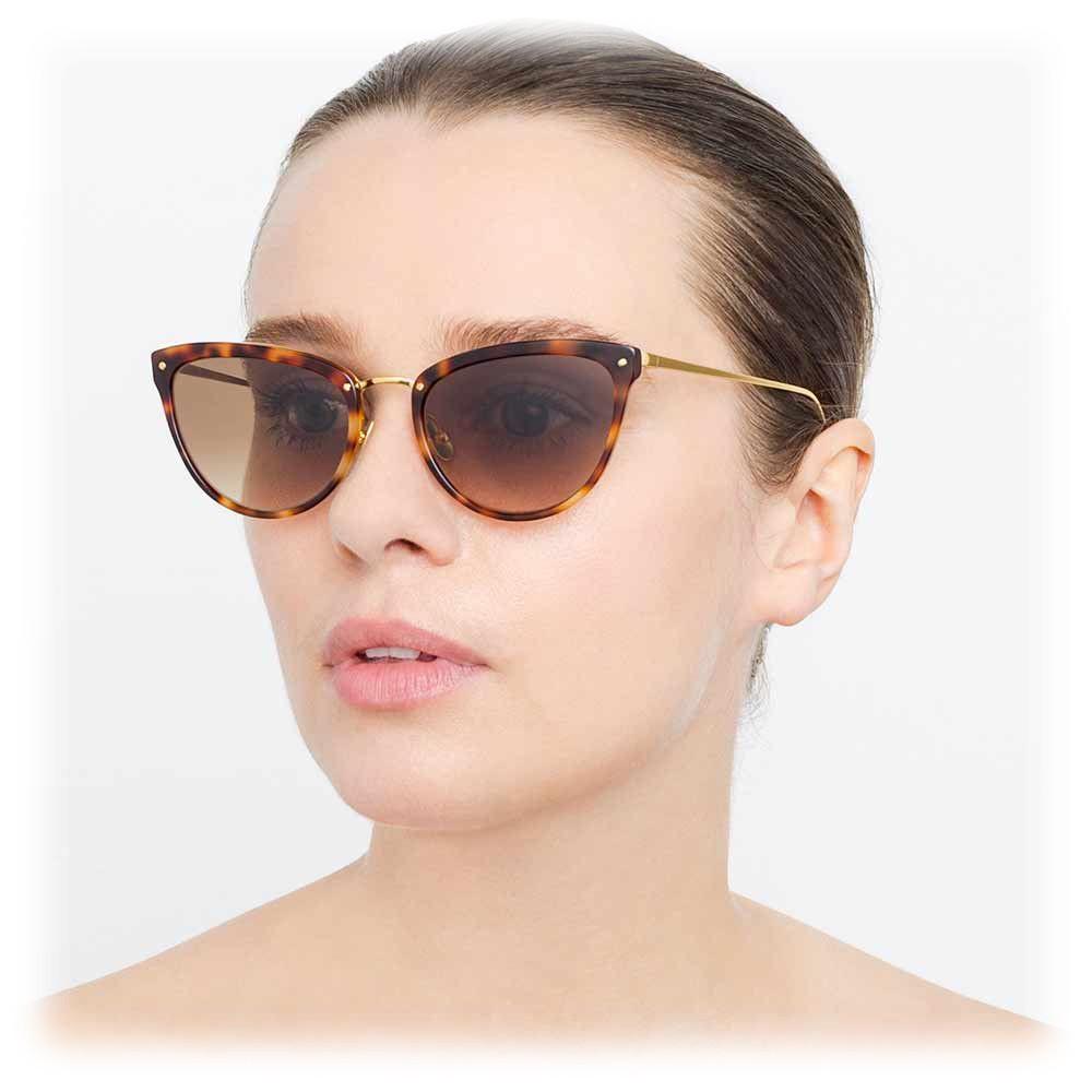 Sunglasses 683 C3 Tortoiseshell Farrow Cat Linda Eye mN0wyvO8n
