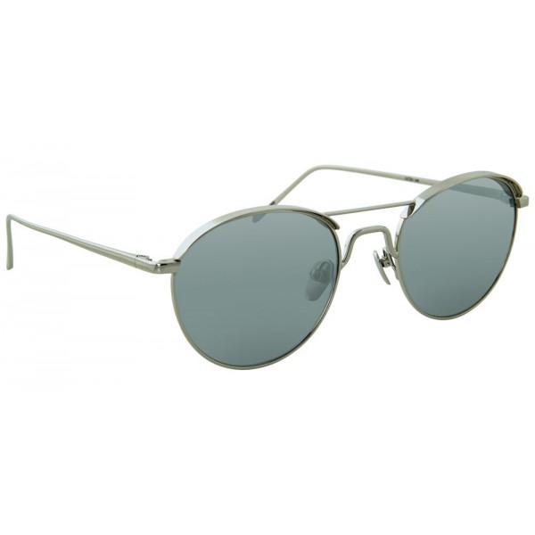 07a946bf96 Linda Farrow - 623 C2 Oval Sunglasses - White Gold - Linda Farrow Eyewear -  Avvenice
