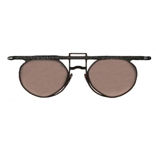Kuboraum - Mask H55 - Black Matt - H55 BM - Sunglasses - Optical Glasses -  Kuboraum Eyewear - Avvenice ca573a3a0