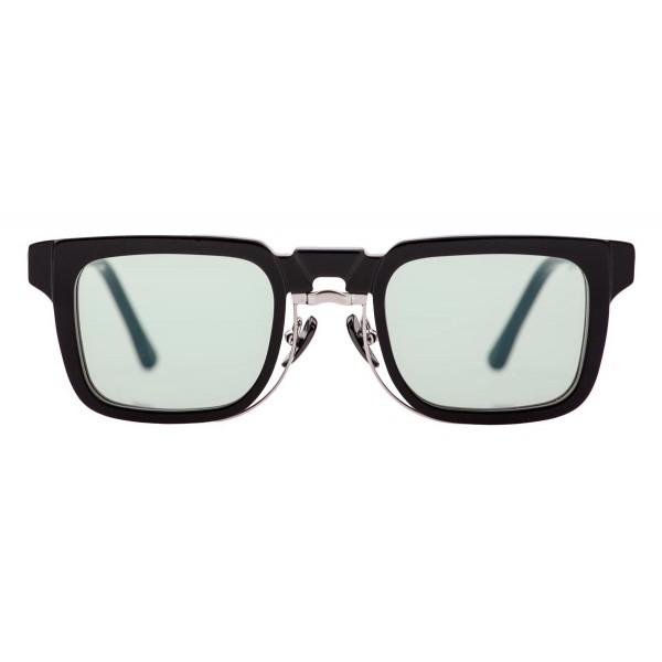 Kuboraum - Mask N4 - Black Shine - N4 BS - Sunglasses - Kuboraum Eyewear