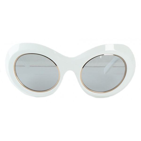 l'ultimo dbe49 fa73c Emilio Pucci - Occhiali da Sole Rotondi Chiari - 46592176HK - Occhiali da  Sole - Emilio Pucci Eyewear - Avvenice