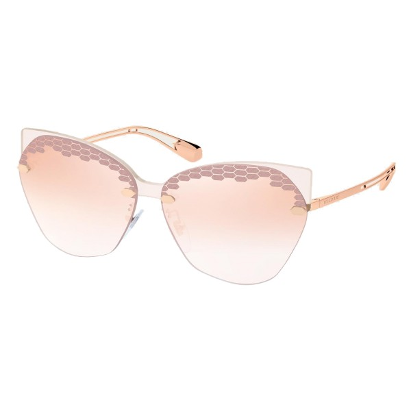 Bulgari - Scalesbeat - Serpenti Sunglasses - Rose - Serpenti Collection - Sunglasses - Bulgari Eyewear