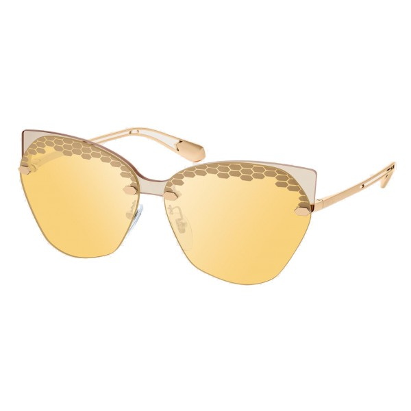 Bulgari - Scalesbeat - Serpenti Sunglasses - Yellow - Serpenti Collection - Sunglasses - Bulgari Eyewear