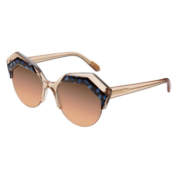 Bulgari - Serpenteyes Power-Up - Serpenti Sunglasses - Brown - Serpenti Collection - Sunglasses - Bulgari Eyewear