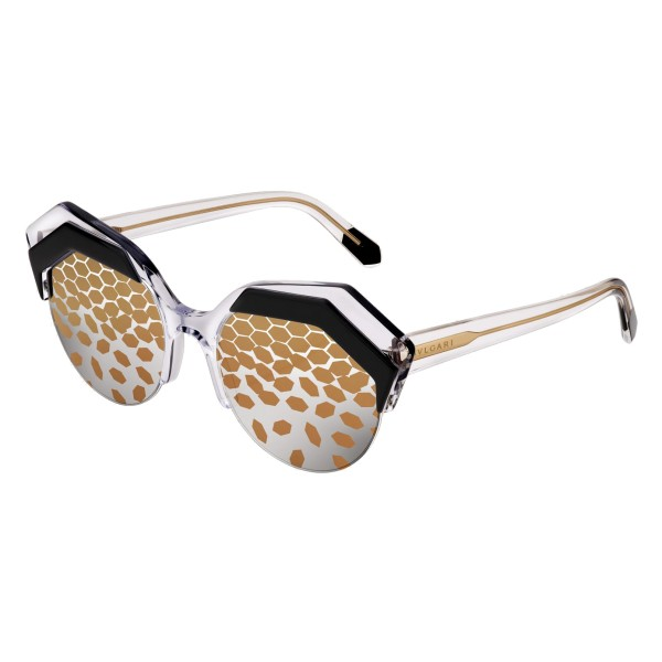 Bulgari - Serpenteyes Power-Up - Serpenti Sunglasses - Gold - Serpenti Collection - Sunglasses - Bulgari Eyewear