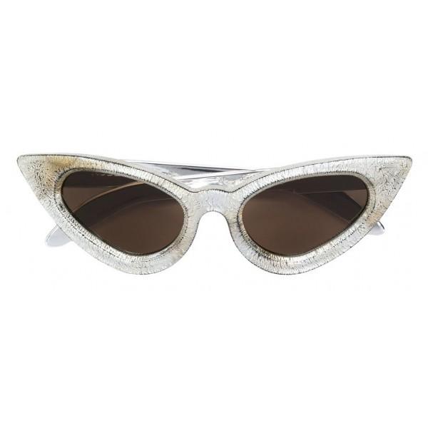 Kuboraum - Mask Y3 - Argento - Y3 BMAR - Occhiali da Sole - Kuboraum Eyewear