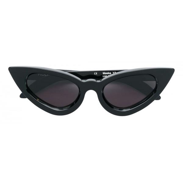 d667d8b4dbef Kuboraum - Mask Y3 - Black Shine - Y3 BS - Sunglasses - Kuboraum Eyewear -  Avvenice