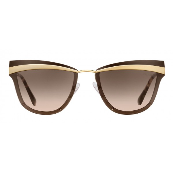 3f5bdcad10ee Prada - Prada Cinéma - Pale Gold Sand Cat Eye Sunglasses - Prada Cinéma  Collection - Sunglasses - Prada Eyewear - Avvenice