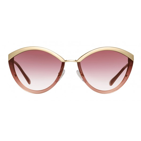 Prada - Prada Cinéma - Gray Crystal Rose Sunglasses - Prada Cinéma Collection - Sunglasses - Prada Eyewear