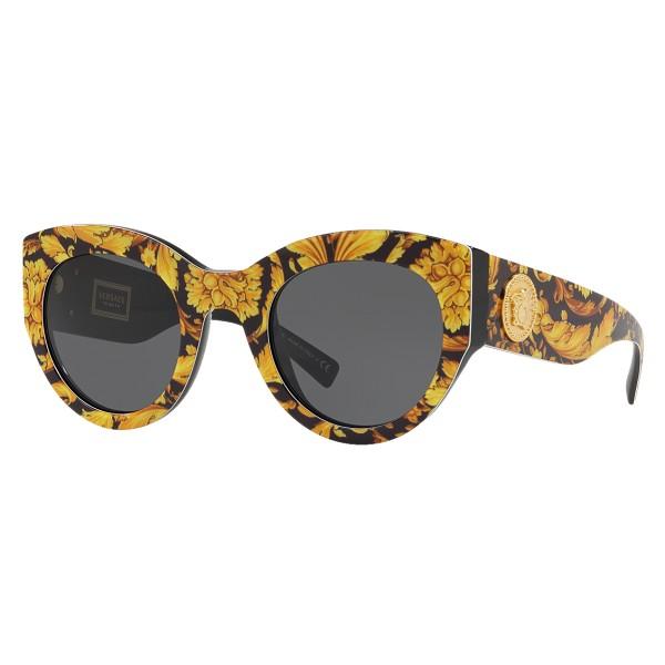 Versace - Occhiale da Sole Tribute Barocco - Stampa Barocco - Occhiali da Sole - Versace Eyewear