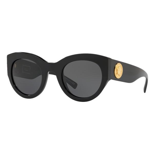 Versace - Occhiale da Sole Versace Tribute - Neri - Occhiali da Sole - Versace Eyewear