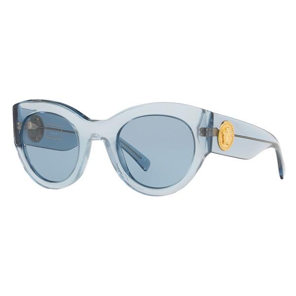 Versace - Occhiale da Sole Vintage Tribute - Blu - Occhiali da Sole - Versace Eyewear