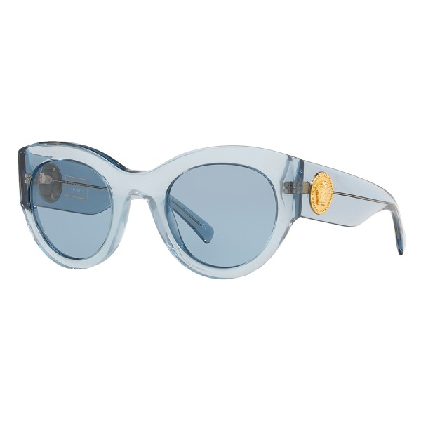 b9ae54eb26 Versace - Sunglasses Vintage Tribute - Blue - Sunglasses - Versace Eyewear  - Avvenice