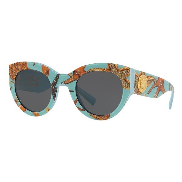 a7b95b930d2 Versace - Sunglasses Tribute Trésor de la Mer - Trésor de la Mer Print -  Sunglasses