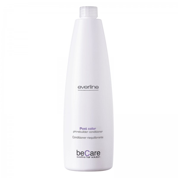 Everline - Hair Solution - Glossy Color - Ph Rebuilder Conditioner - BeCare - 1000 ml