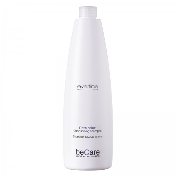 Everline - Hair Solution - Glossy Color - Color Shining Shampoo - BeCare - 1000 ml