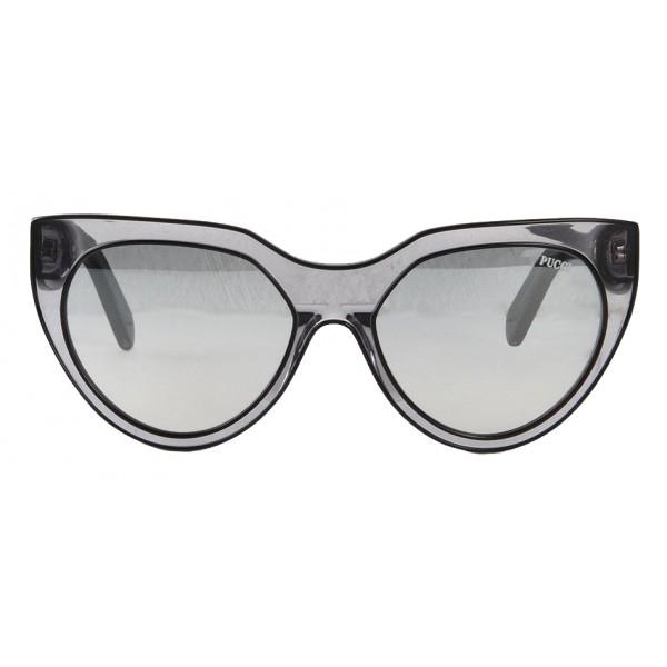 Emilio Pucci - Occhiali da Sole Cat-Eye Trasparenti - 43200682EI - Occhiali da Sole - Emilio Pucci Eyewear