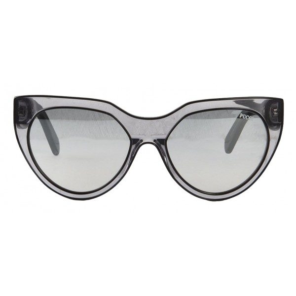 Emilio Pucci - Transparent Cat-Eye Sunglasses - 43200682EI - Sunglasses - Emilio Pucci Eyewear