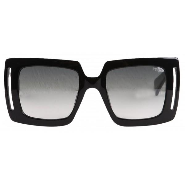 Emilio Pucci - Black Square Sunglasses - 46549541HX - Sunglasses - Emilio Pucci Eyewear