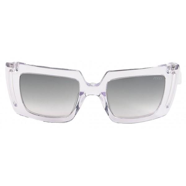 Emilio Pucci - Occhiali da Sole Quadrati Trasparenti - 46549549BB - Occhiali da Sole - Emilio Pucci Eyewear