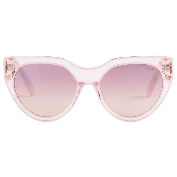watch 13318 7dbb4 Emilio Pucci - Occhiali da Sole Cat-Eye Trasparenti - 46576931KI - Occhiali  da Sole - Emilio Pucci Eyewear