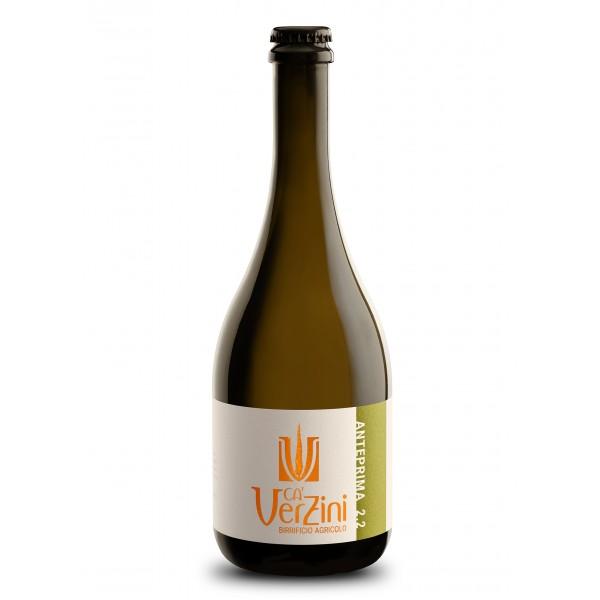 Ca' Verzini - Birrificio Agricolo - Anteprima 2.2 Blanche - Birra Speciale - Birra Artigianale Italiana di Alta Qualità - 750 ml