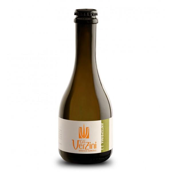 Ca' Verzini - Birrificio Agricolo - Anteprima 2.2 Blanche - Birra Speciale - Birra Artigianale Italiana di Alta Qualità - 330 ml