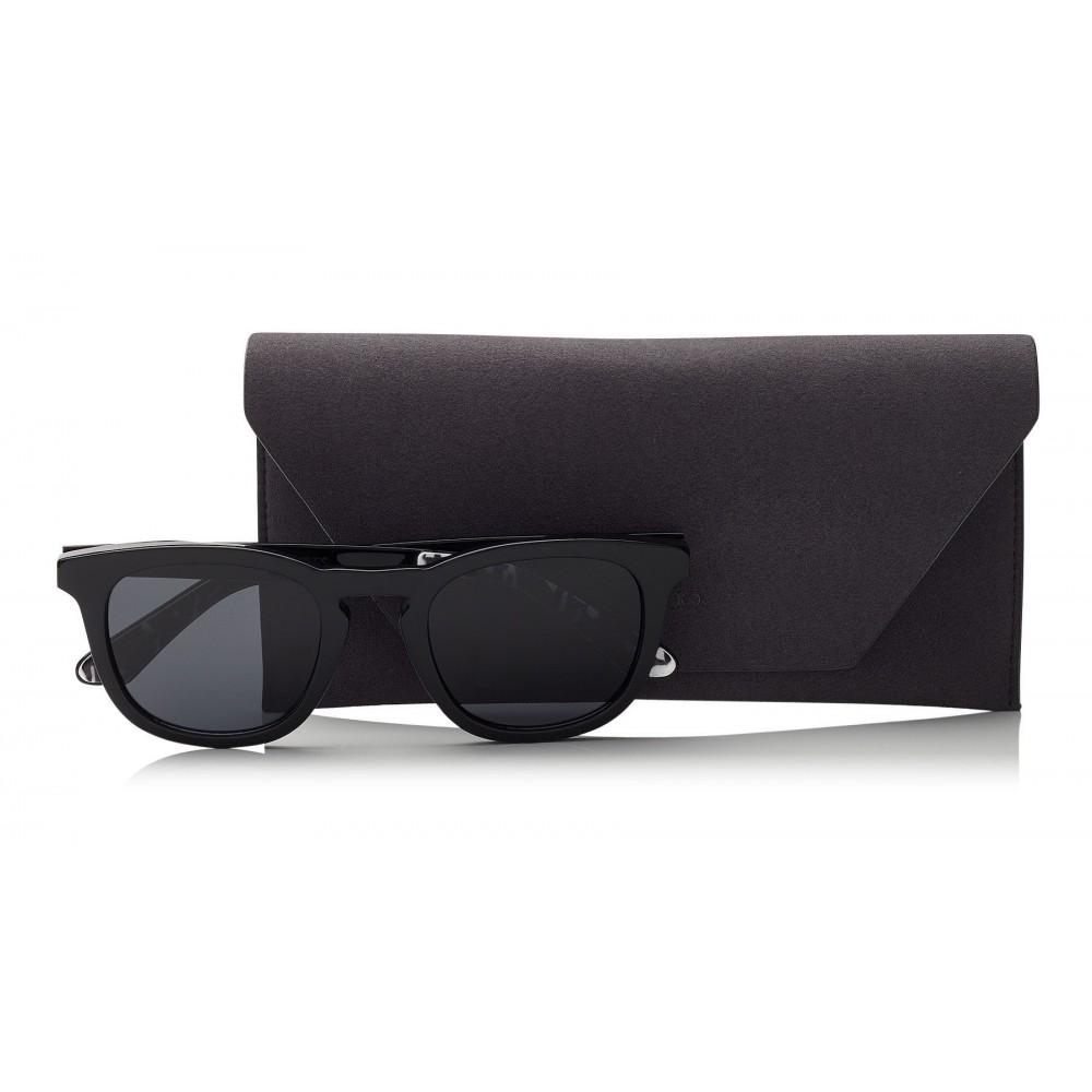 b5242f4e7bd Jimmy Choo - Ben - Black Wayfare Sunglasses - Jimmy Choo Eyewear ...
