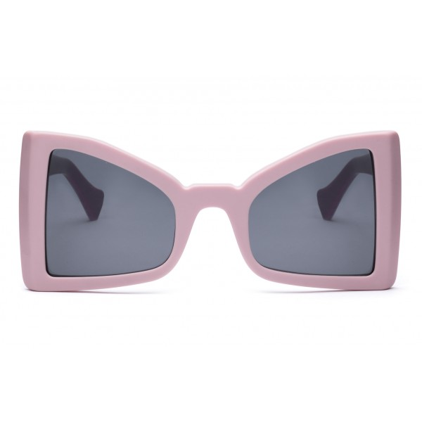 011 Eyewear - Lullaby - 01 - Pink Acetate Cat Eye Framed Sunglasses - Sunglasses - 011 Eyewear