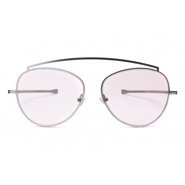 011 Eyewear - Soul - 03 - Violet Metal Round Framed Sunglasses - Sunglasses - 011 Eyewear