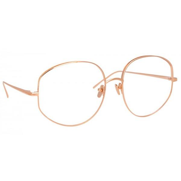 Linda Farrow - Occhiali da Vista Rotondi 750 C3 - Oro Rosa - Linda Farrow Eyewear