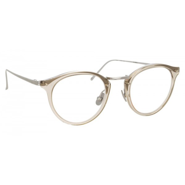 Linda Farrow - 808 C5 Oval Optical Frames - Truffle - Linda Farrow Eyewear