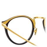 Linda Farrow - Occhiali da Vista Ovali 808 C1 - Nero - Linda Farrow Eyewear