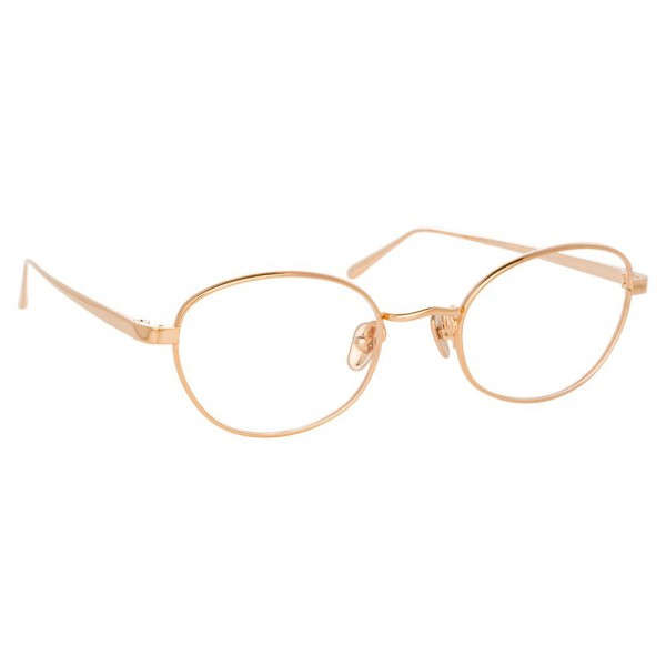 Linda Farrow - 796 C3 Cat Eye Optical Frames - Rose Gold - Linda Farrow Eyewear