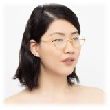 Linda Farrow - Occhiali da Vista Cat Eye 796 C1 - Oro Giallo - Linda Farrow Eyewear