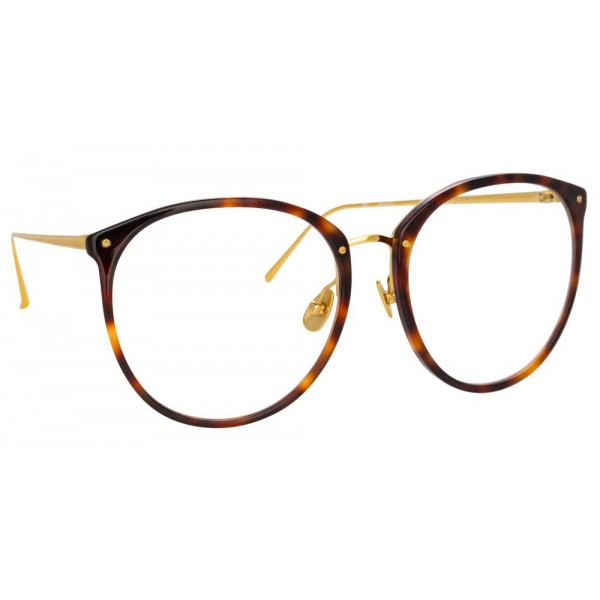 Linda Farrow - 747 C9 Oversized Optical Frames - Tortoise - Linda Farrow Eyewear