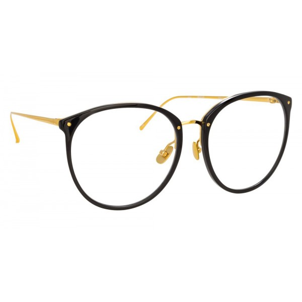 Linda Farrow - 747 C7 Oversized Optical Frames - Black - Linda Farrow Eyewear