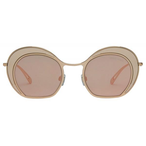 9c08b04d7 Giorgio Armani - Double Circle - Sunglasses with Double Circle Frame - Grey  - Sunglasses -