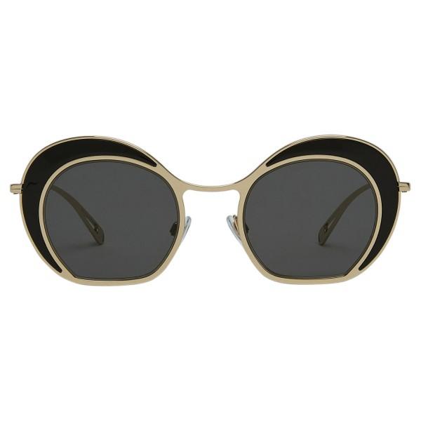 Giorgio Armani - Doppio Cerchio - Occhiali da Sole a Doppio Cerchio - Oro - Occhiali da Sole - Giorgio Armani Eyewear