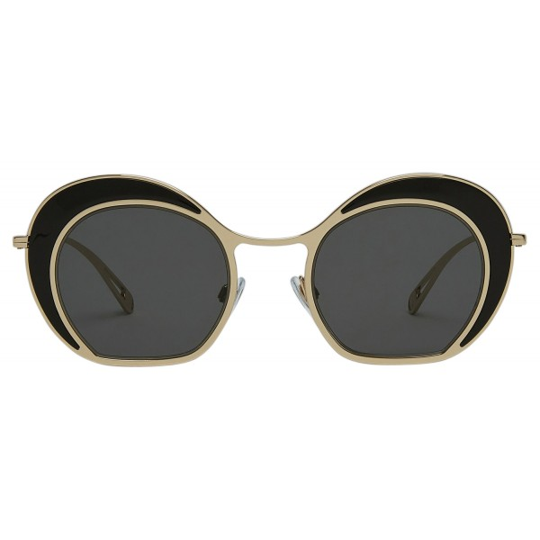 Giorgio Armani - Double Circle - Sunglasses with Double Circle Frame - Gold - Sunglasses - Giorgio Armani Eyewear