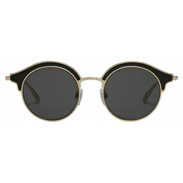 Giorgio Armani - Double Mounted - Sunglasses with Double Mounted Frame - Gold - Sunglasses - Giorgio Armani Eyewear