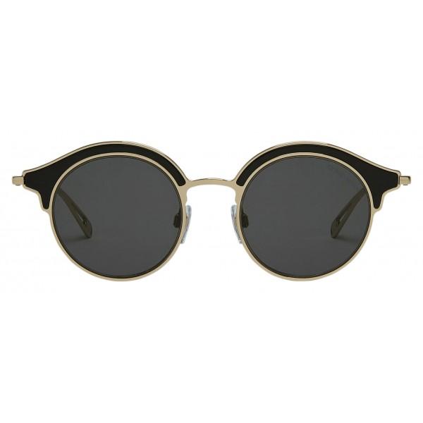 Giorgio Armani - Montatura Doppiata - Occhiali da Sole a Montatura Doppiata - Oro - Occhiali da Sole - Giorgio Armani Eyewear