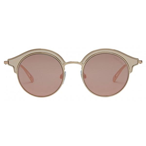 Giorgio Armani - Montatura Doppiata - Occhiali da Sole a Montatura Doppiata - Grigio - Occhiali da Sole - Giorgio Armani Eyewear