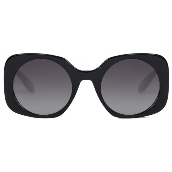 Giorgio Armani - Applicazione Logata - Occhiali da Sole con Logati - Grigio - Occhiali da Sole - Giorgio Armani Eyewear