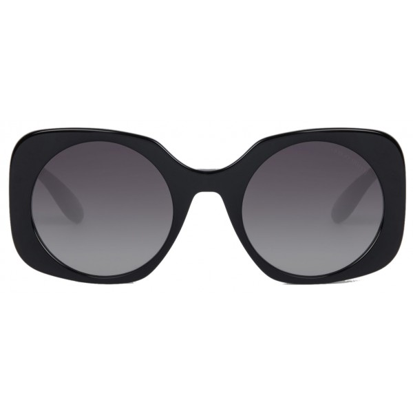 Giorgio Armani - Logo Application - Sunglasses with Logo Application - Grey - Sunglasses - Giorgio Armani Eyewear