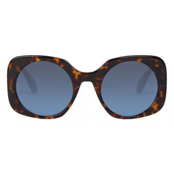 Giorgio Armani - Applicazione Logata - Occhiali da Sole con Logati - Blu - Occhiali da Sole - Giorgio Armani Eyewear