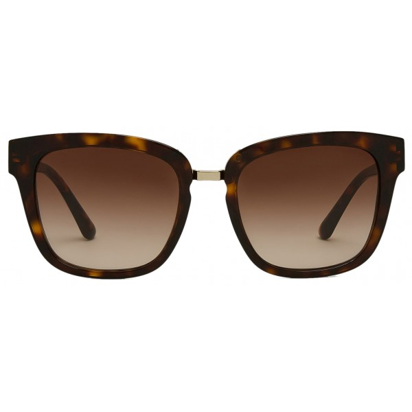 Giorgio Armani - Metal Bridge - Metal Bridge Frame Sunglasses - Brown - Sunglasses - Giorgio Armani Eyewear