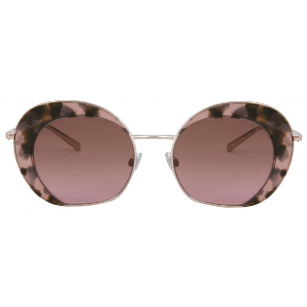 Giorgio Armani - Retrò - Metal Sunglasses with Fantasy Lenses - Rose - Sunglasses - Giorgio Armani Eyewear