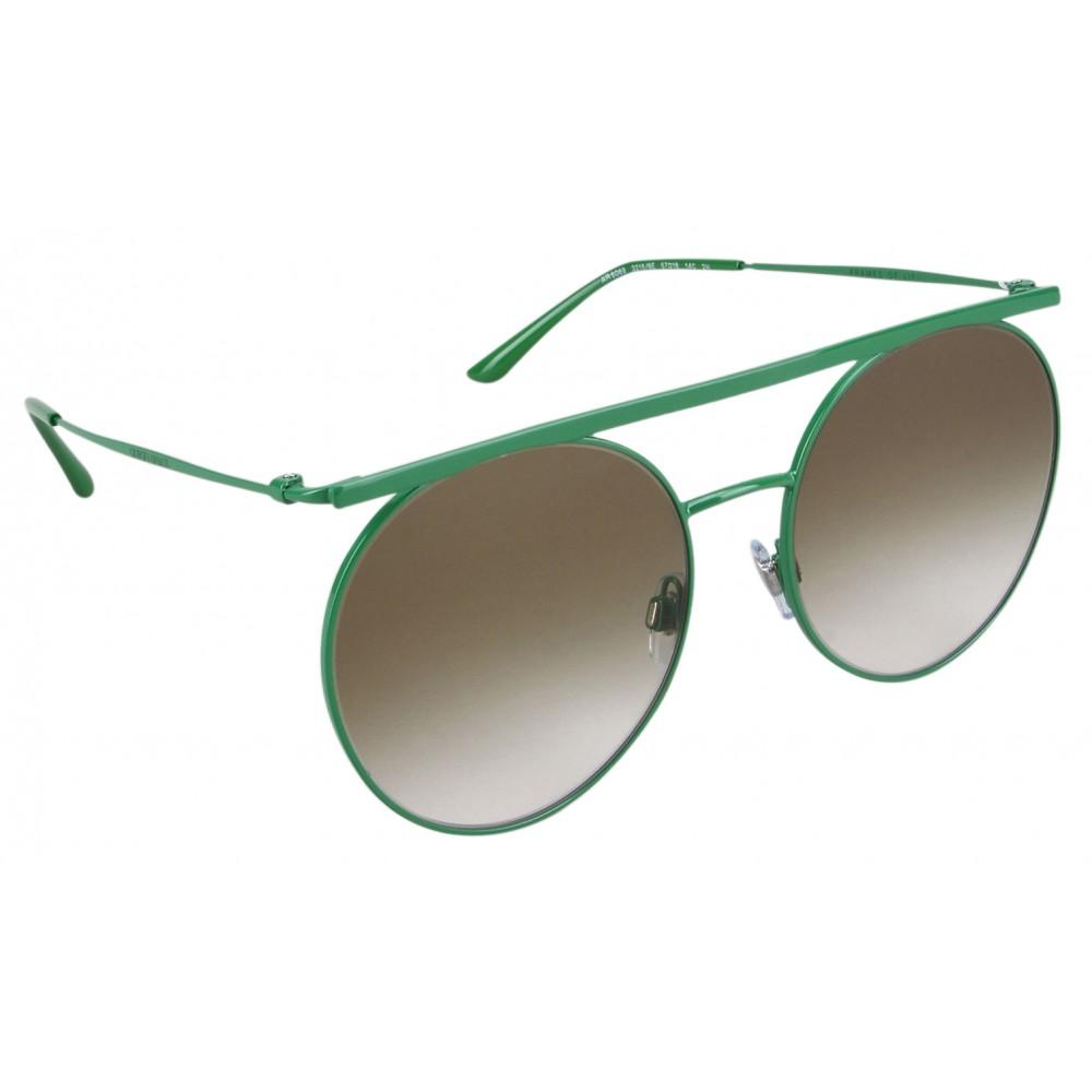0c5df39d7e1 ... Giorgio Armani - Double Bridge - Metal Sunglasses with Gradient Lenses  - Green - Sunglasses ...