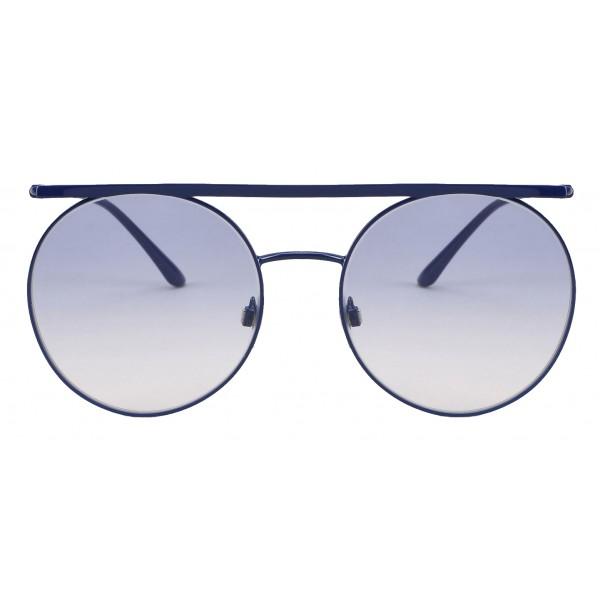 d3a0c7021589 Giorgio Armani - Double Bridge - Metal Sunglasses with Gradient Lenses -  Blue - Sunglasses -